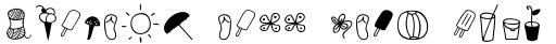 Four Seasons Dingbat sample