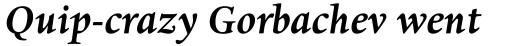 Dante eText Pro Bold Italic sample