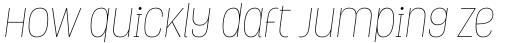Grota Thin Italic sample