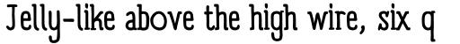 Panforte Serif sample