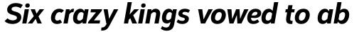 Corbert Condensed Extra Bold Condensed Italic sample