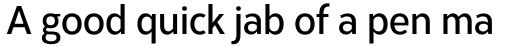 Corbert Condensed Demi Bold Condensed sample