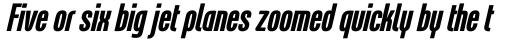 Linotype Freytag Pro Bold Italic sample