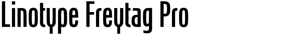 Click to view  Linotype Freytag Pro font, character set and sample text