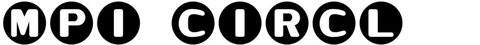 Click to view  MPI Circle Sans font, character set and sample text