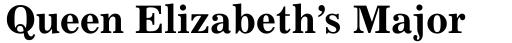 Excelsior Cyrillic Bold sample