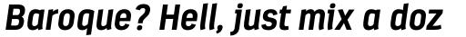 Estandar Bold Italic sample