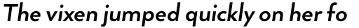 Arquitecta Bold Italic sample