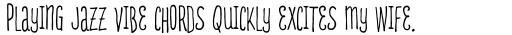 D.I.Y. Time Ink sample
