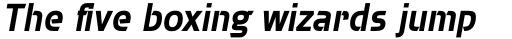 Brda Std Bold Italic sample