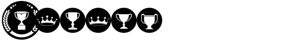 Click to view  Awardos font, character set and sample text