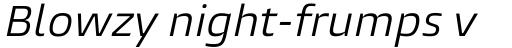 Burlingame Pro Italic sample