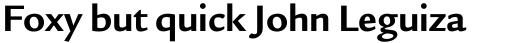 Legacy Sans Bold sample