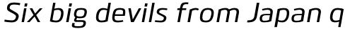 Bitner Medium Italic sample