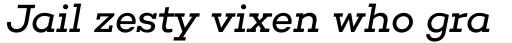 Choplin Book Italic sample