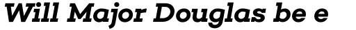 Choplin Semi Bold Italic sample