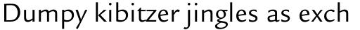 Legacy Sans Book sample