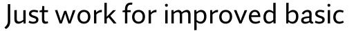 Quire Sans Pro Regular sample