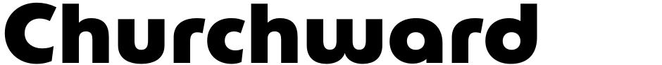 Click to view  Churchward Lorina font, character set and sample text