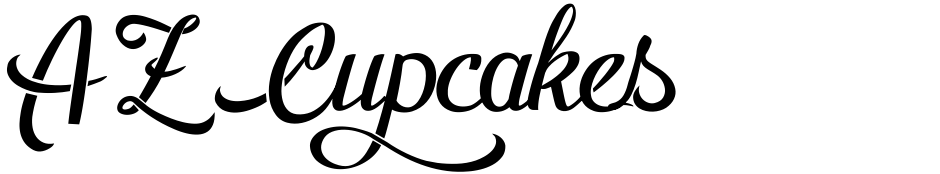 Click to view  AZ Cupcakes font, character set and sample text