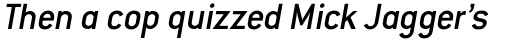 Conduit Medium Italic OS sample