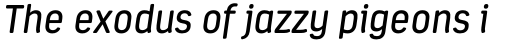 Estandar Rounded Italic sample
