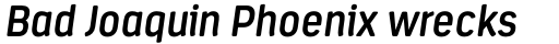Estandar Rounded Semi Bold Italic sample