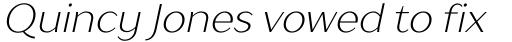 TT Drugs Light Italic sample