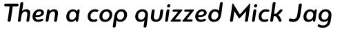 PF Bague Round Pro Medium Italic sample
