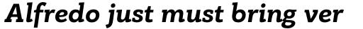 PF Bague Slab Pro Bold Italic sample
