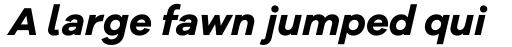 Galano Grotesque Alt Bold Italic sample