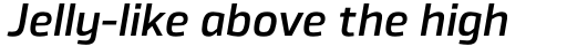 Byker Medium Italic sample