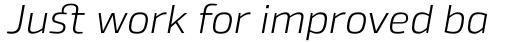 Byker Light Italic sample