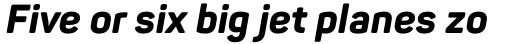 Panton ExtraBold Italic sample