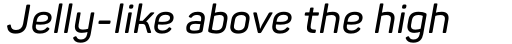 Panton SemiBold Italic sample