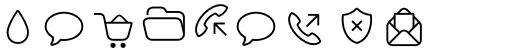 Panton Icons B Regular sample