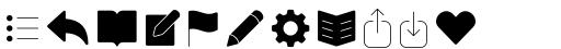 Panton Icons C Fill Light sample
