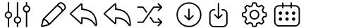 Panton Icons C Regular sample