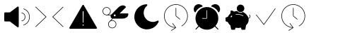 Panton Icons D Fill Light sample