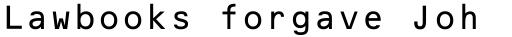 OCR-B BT Std 10 sample