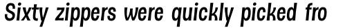 Dsert Bold Italic sample