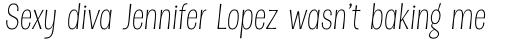 Dsert Alt ExtraLight Italic sample