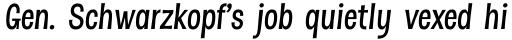 Dsert Alt SemiBold Italic sample