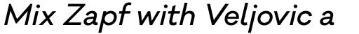 Galano Classic Alt Medium Italic sample