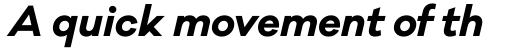 Galano Classic Alt Bold Italic sample