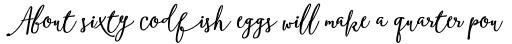 Boho Script Drop Bold Italic sample
