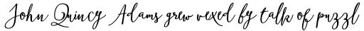 Boho Script Bold Italic sample