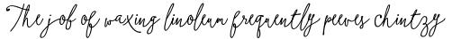 Boho Script Line Drop Bold Italic sample