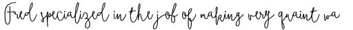 Boho Script Line Bold sample