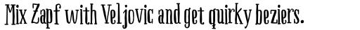 Boho Serif Bold sample